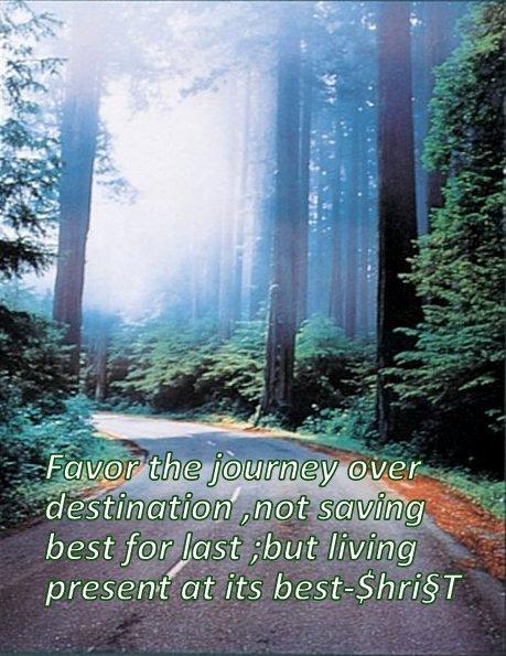Favor Journey !